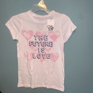 Chaser The Future is Love Drip Hearts T-Shirt